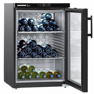 LIEBHERR WKB1812 Freestanding Vinothek Single Zone Wine Chiller, 89 cm